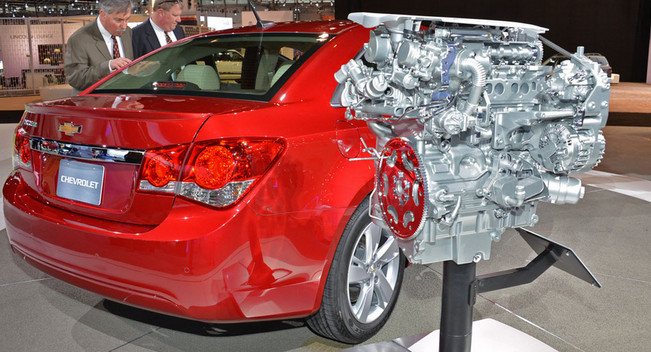 46 Mpg On 2014 Chevy Cruze Dieselvalor System